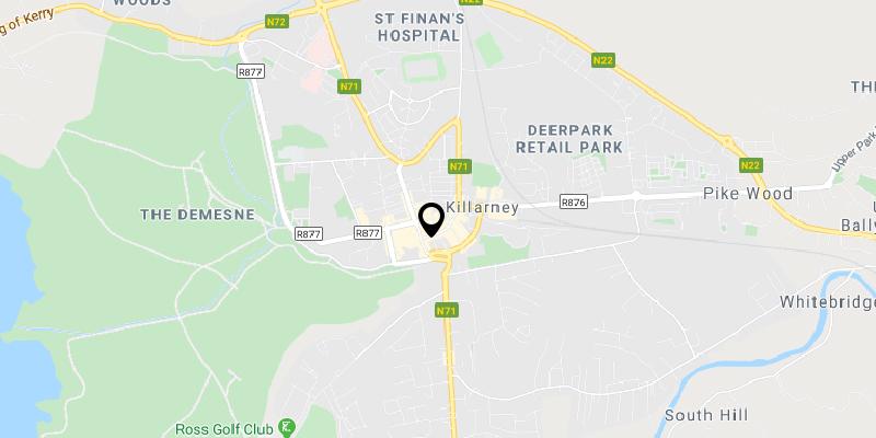 Scott Hotel Killarney Location